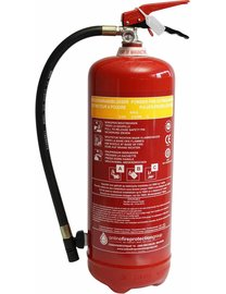 FireDiscounter Fire extinguisher powder 6kg (ABC) - No Benor