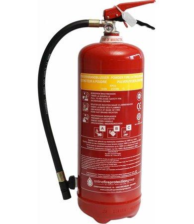 FireDiscounter Fire extinguisher powder 6kg (ABC)