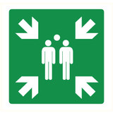 Pictogram assembly point