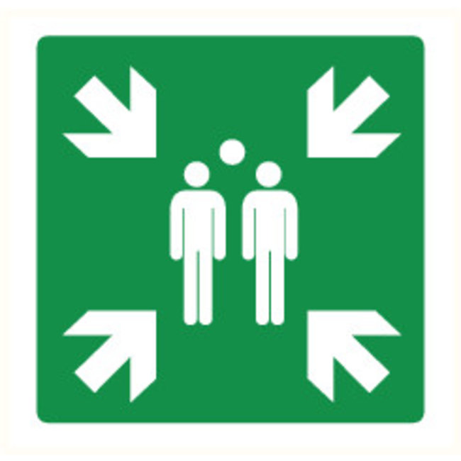 Pikt-o-Norm Pictogram assembly point