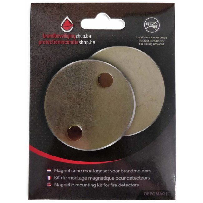 FireDiscounter Magnetic assembly kit for fire alarms