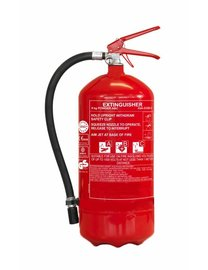 FireDiscounter Extinguisher powder for vehicles 9kg BENOR V label (ABC)