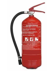 FireDiscounter Extinguisher powder for vehicles 6kg BENOR V label (ABC)