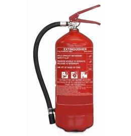Extinguisher powder for vehicles 6kg BENOR V label (ABC)