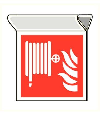 Pikt-o-Norm Pictogram fire hose reel