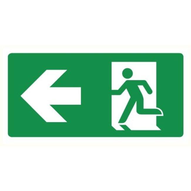 Pikt-o-Norm Pictogram emergency exit left