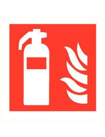 FireDiscounter Brandblusser poeder 6kg  (ABC)  - Voor bedrijven & thuis (BENOR)