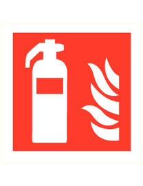 FireDiscounter Fire extinguisher powder (ABC) 6kg -  For companies & home use (BENOR)
