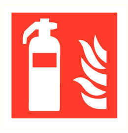 Pictogram fire extinguisher