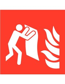 Pikt-o-Norm Pictogram fire blanket