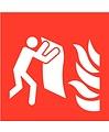 Pikt-o-Norm Pictogramme couverture anti-feu