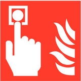 Pictogram fire alarm