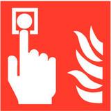 Pictogramme point d'alarme incendie
