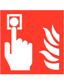 Pikt-o-Norm Pictogram fire alarm