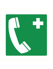 Pikt-o-Norm Pictogram telephone first aid