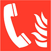 Pikt-o-Norm Pictogram telephone fire