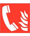 Pikt-o-Norm Pictogramme téléphone d'incendie