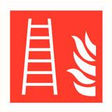 Pictogram fire ladder