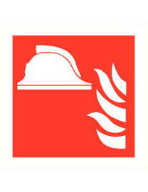 Pikt-o-Norm Pictogram fire helmet
