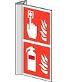 Pikt-o-Norm Pictogram combi brandmelder brandblusser
