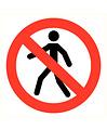 Pikt-o-Norm Pictogram verboden voor personen