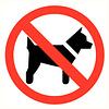 Pikt-o-Norm Pictogramme accès interdit aux animaux