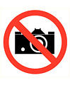 Pikt-o-Norm Pictogramme prise des photos interdit