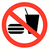 Pikt-o-Norm Pictogram food prohibited