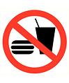 Pikt-o-Norm Pictogramme interdit de manger