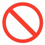 Pictogram access prohibited