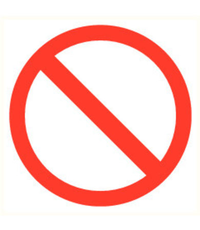 Pikt-o-Norm Pictogramme accès interdit