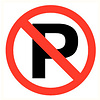 Pikt-o-Norm Pictogram verboden te parkeren