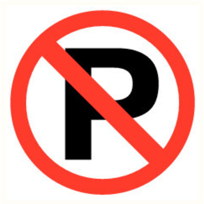 Pikt-o-Norm Pictogram parking prohibited