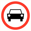 Pikt-o-Norm Pictogram vehicles prohibited