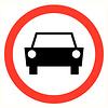 Pikt-o-Norm Pictogramme interdiction voiture