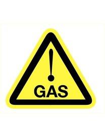 Pikt-o-Norm Pictogram gevaar voor gas