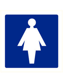 Pikt-o-Norm Pictogram indication toilet ladies