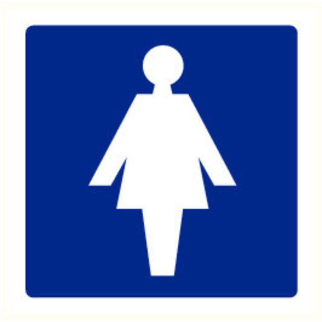 Pikt-o-Norm Pictogramme toilettes dames