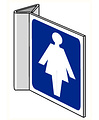 Pikt-o-Norm Pictogram indication toilet ladies