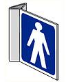 Pikt-o-Norm Pictogram indication toilet gents