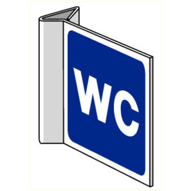 Pikt-o-Norm Pictogram aanwijzing WC algemeen
