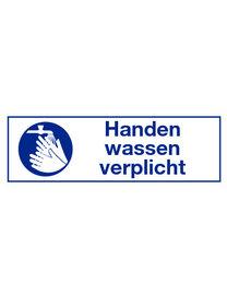 "Pikt-o-Norm Pictogram indication text ""handen wassen verplicht"""