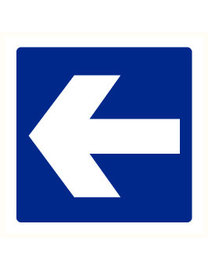 Pikt-o-Norm Pictogram indication arrow blue