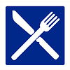 Pikt-o-Norm Pictogram aanwijzing eetgelegenheid