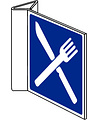Pikt-o-Norm Pictogram indication canteen