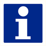 Pictogramme indication info