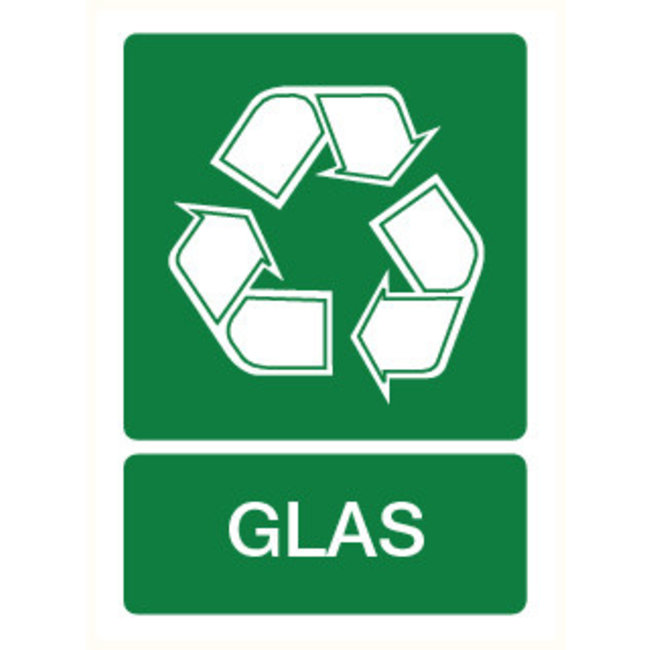Pikt-o-Norm Pictogram indication recycling glass