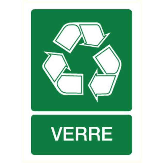 Pikt-o-Norm Pictogramme recyclage verre