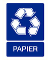 Pikt-o-Norm Pictogramme indication recyclage papier