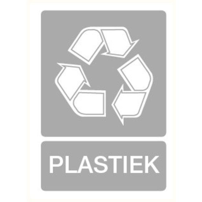 Pikt-o-Norm Pictogram aanwijzing recyclage plastiek